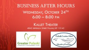 Evening at the Kallet:  Chamber & Community Fund - Working Together